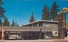 STATELINE, Lake Tahoe   EL DORADO MOTEL   1950s  Roadside Highway 50   Postcard