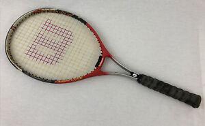 Wilson Strike Titanium Soft Shock Tennis Racquet Racket 4 1/2 Grip L4