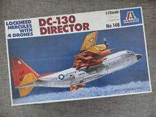 ITALERI 148 - LOCKHEED HERCULES DC-130 DIRECTOR + 4 DRONES - RARE 1/72 MODEL KIT