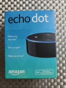 Amazon Echo Dot 2nd Gen Home Music Smart Assistant Speaker Alexa black new