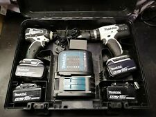 Makita lxt Drill & Impact Driver With 4 X 5amp Batteries & Charger