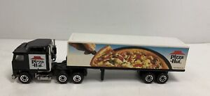 Vintage Matchbox Tractor Trailer Semi Truck 1981 Articulated Trailer Pizza Hut
