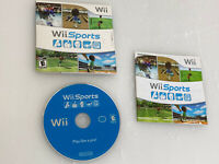 Wii Sports Game (Nintendo Wii, 2006) CIB Bowling Tennis Boxing Baseball Golf