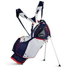 NEW Sun Mountain Golf 4.5 LS 2019 Stand Bag 14-way Top Navy / White / Red