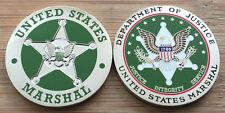 US Marshals Service - DUSM - St Patrick's Day - ERIN GO BRAGH challenge coin