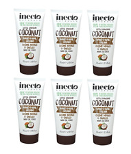 SIX Inecto Naturals COCONUT HAND CREAM 75ml Nails & Cuticles Non-Greasy