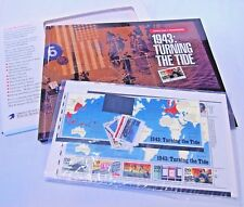WWII Remembered 1943 Turning the Tide Mint set stamps book 8843 unassembled