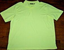 Men's Walter Hagen Essentials Light Green Short Sleeve Golf Polo Shirt XXL