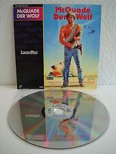 Mc Quade - Der Wolf | Chuck Norris | Laserdisc PAL Deutsch CLV | LD: Mint-
