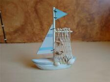 Wooden Fishing Boat Ornament - Decorative - Nautical