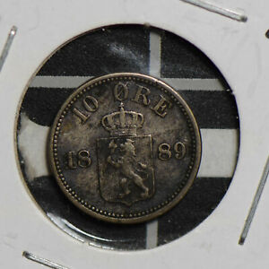 Norway 1889 10 Ore  N0205 combine shipping