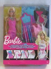 Mattel X7892 Barbie Glam STILISTA CON BAMBOLA BARBIE NUOVO