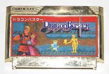 DRAGON BUSTER sur Nintendo Famicom Japan NES