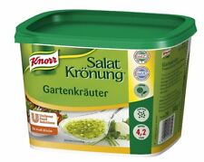 1 x BIG BOX KNORR SALAD GARDEN HERBS SALATKROENUNG GARTENKRÄUTER - GERMAN FOOD