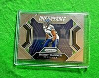 BOBBY WAGNER UNSTOPPABLE SILVER CHROME CARD SEATTLE SEAHAWKS 2020 PANINI PRIZM