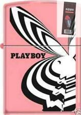 Zippo 8183 playboy bunny pink RARE & DISCONTINUED Lighter + FLINT PACK