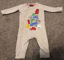 Joules Baby Boys Age 3-6 Months Footless Sleepsuit Babygrow