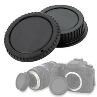 KIT CAP COVER REAR LENS BODY CAMERA COMPATIBILE X CANON EOS 1300D 5DS R 760D 70D