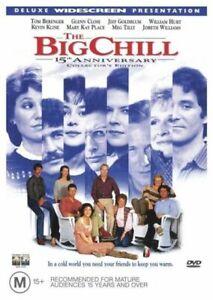 The Big Chill DVD - Tom Berenger, Jeff Goldblum - Region 4 Aust DRAMA