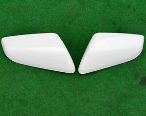 Factory Chevrolet Equinox Mirror Covers Pair Summit White OEM 22063012 22063011