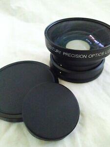 Century Precision Optics 80mm C69502 .65X Wide Angle Conv Lens PD150 / VX2000