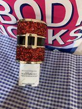 Bath & Body Works Wallflowers Fragrance Plug In Red Glitter Santa Belt Christmas