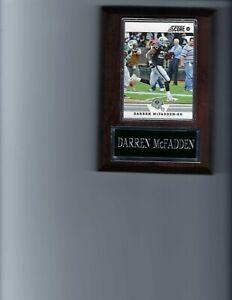 DARREN McFADDEN PLAQUE OAKLAND RAIDERS LA FOOTBALL NFL   C2