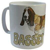 Basset Hound Dog Mug, Basset Hound Gift Mug, Basset Hound Owners Gift.