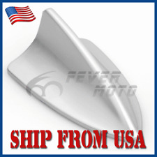 US Silver Gray Shark Fin Roof Top Decor Dummy Antenna Aerial Fit Universal Car