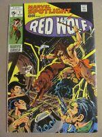 Marvel Spotlight #1 Marvel Comics 1971 Series Origin Red Wolf Neal Adams