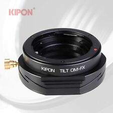 New Version Kipon Tilt Adapter for Olympus OM Lens to Fuji FX X-Pro1 X-E1 Camera