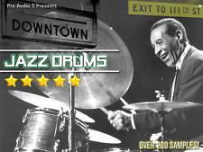 Downtown JAZZ Drum Hits  CD - Akai MPC 1000, 4000, 2500, 2000XL + .WAV