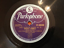 "BUD FREEMAN & HIS FAMOUS CHICAGOANS ""Muskat Ramble""/""Prince Of Wails"" 78rpm EX+"