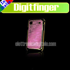 SAMSUNG I9000 GALAXY S Bella CUSTODIA BACK COVER Case rigida GLAMOUR ROSA ORO