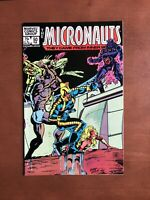 Micronauts #50 (1983) 9.2 NM Marvel Key Issue Bronze Age Comic Book High Grade