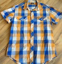 Unbranded Short Sleeve Slim Fit Casual Shirts for Men