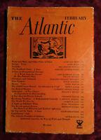 ATLANTIC February 1935 Bertrand Russell Dorothy Fisher Ralph Bergengren