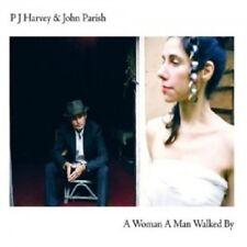 JOHN PARISH & PJ HARVEY - A WOMAN A MAN WALKED BY  CD  10 TRACKS POP  NEW!