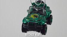 Jurassic World Movie Jeep Style 4x4 Custom Christmas Ornament Lost Park Adorno