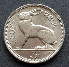 IRELAND THREE PENCE COIN  IRISH THREE PENNY COIN 1968 UNCIRCULATED