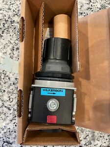 """NEW, Wilkerson R28-03-F000B Air Pressure Regulator,3/8"""" Pipe Size FREE SHIPPING"""