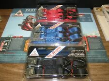 NEW Honda Motorcycle ATV PWC tie downs with soft straps Red Blue Black