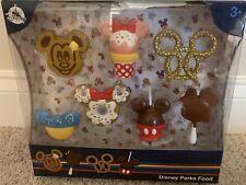 NIB Disney Parks Food Play Set, 7 Piece Playset, Mickey Waffle, Bar, Minnie