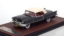 Cadillac Eldorado Biarritz Convertible Closed 1956 Grey Metal GLM 120502