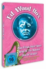 Ed Wood Box (Plan 9 from Outer Space, Bride of the Monster) 3 DVD Set NEU + OVP!