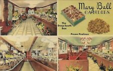 Mary Ball Candies The Deep South Pecan Pralines Birmingham AL postally used 1960