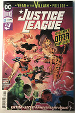 DC Comics Justice League 25 Year Of The Villain Prelude Anniversary Issue NM!!!
