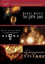 The Sixth Sense / The Village / Signs [New Dvd]