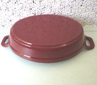 Matte Black 1301323 Staub Cast Iron 5.5 x 3.8 Mini Oval Gratin Baking Dish