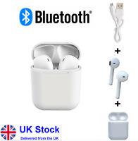 Bluetooth Wireless Earphones & Charging Pod Mobile Phone Headphones Earphones